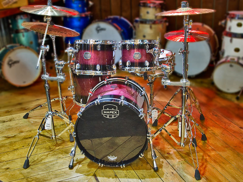 Mapex Saturn IV Drum Kit drumshop uk