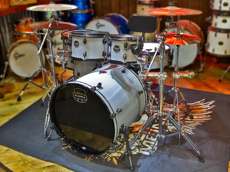 Mapex Meridian Black Viper Ltd Edition Shell Pack drumshop uk