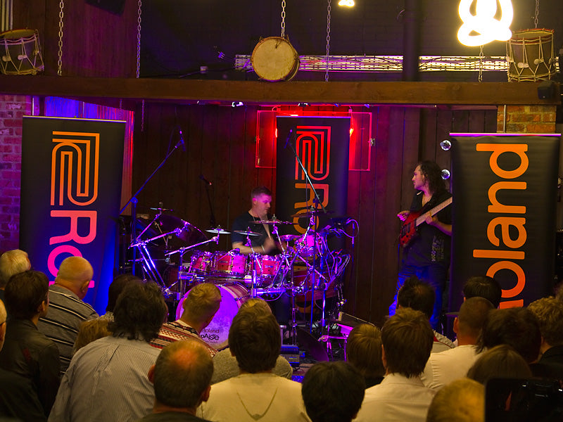 Craig Blundell and Alex Hutchings Drumshop UK