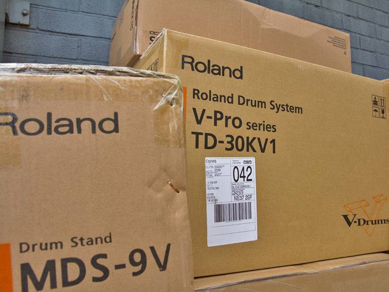 Roland Delivery at Drum Shop UK