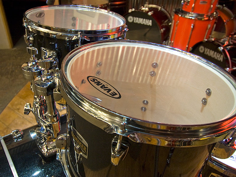 Yamaha GigMaker drum kit with Evans drum heads