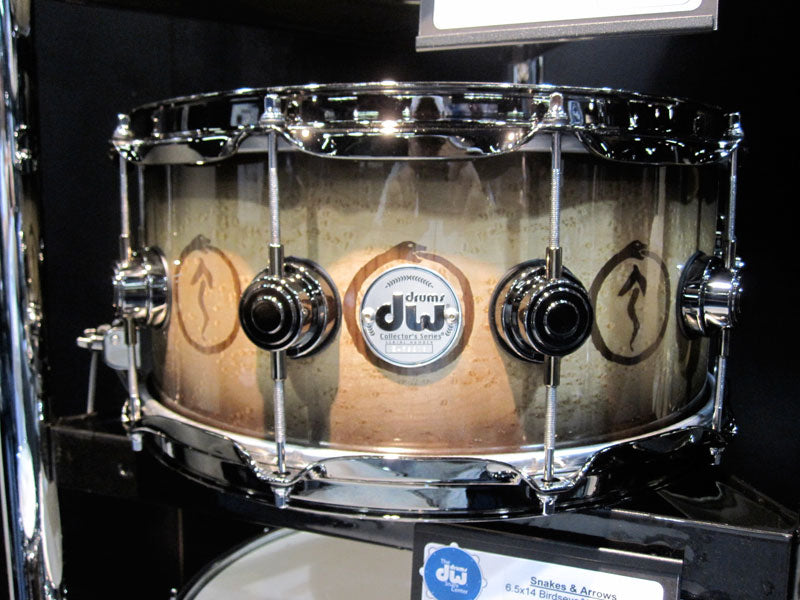 DW Collectors series snare drums NAMM 2010 Drumshop UK