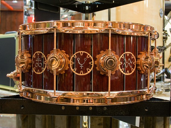 DW snare drum at the drumshop