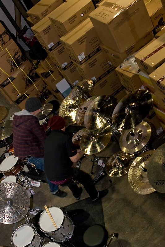 Drumshop Workshop with Jeff Davenport Drumshop UK