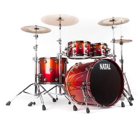 Natal Originals Sunburst Fade drum kit - drumshop product of the month