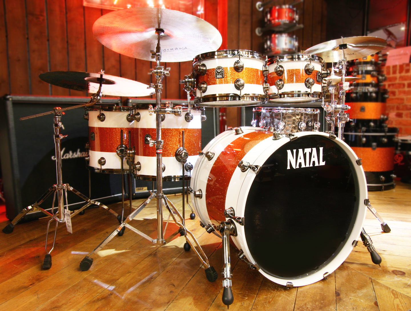Natal drums at drum shop UK