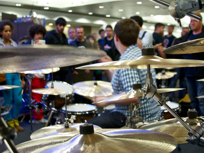 Istanbul cymbals at the london drum show drumshop uk