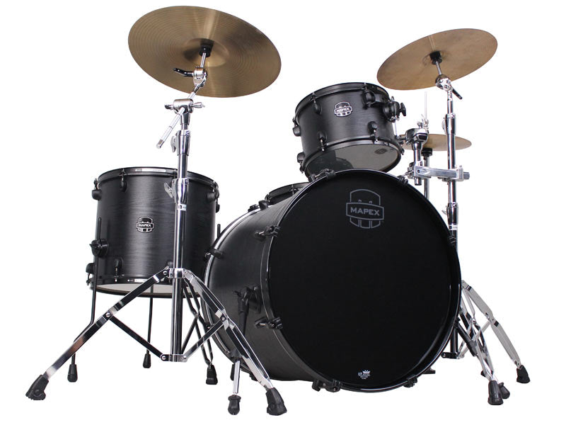Mapex Meridian Black Raven Limited Edition Shell Pack