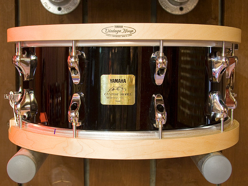 Yamaha snare drum with Vintage Hoop
