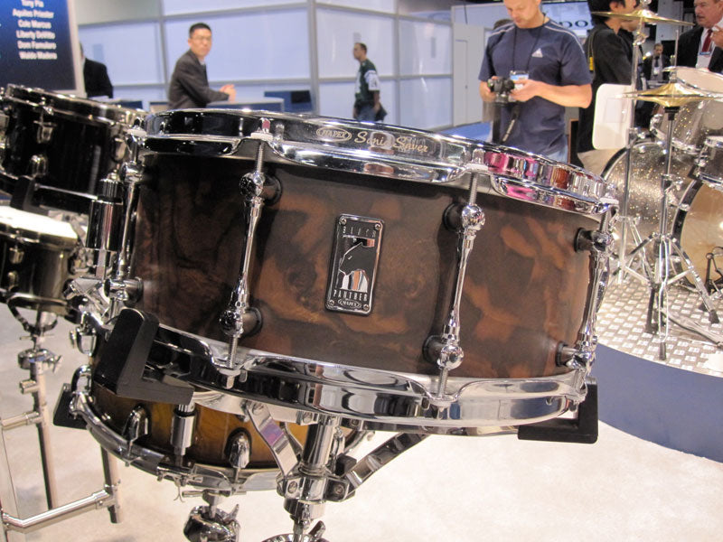 New Mapex Black Panther drums at NAMM 2010 Drumshop UK