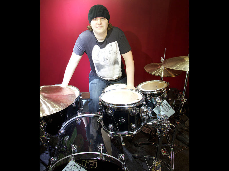 Michael James DW drum kit at Drumshop UK