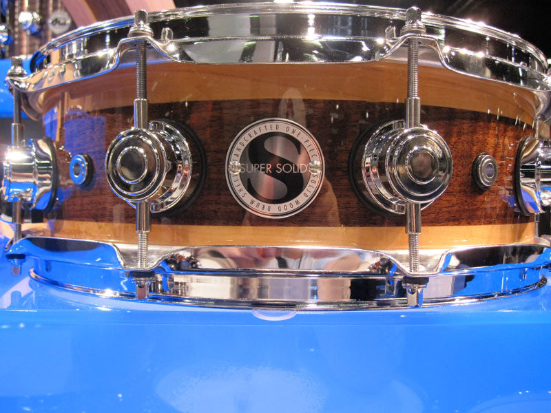 DW Super Solid snare drums at NAMM 2010 Drumshop UK