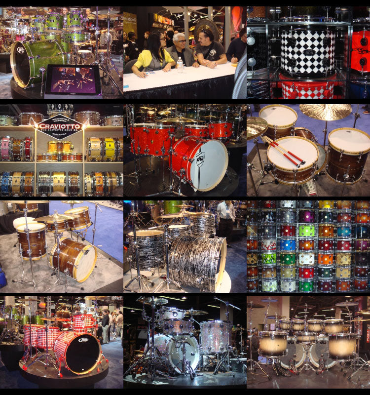 NAMM show 2008 Drum Shop UK
