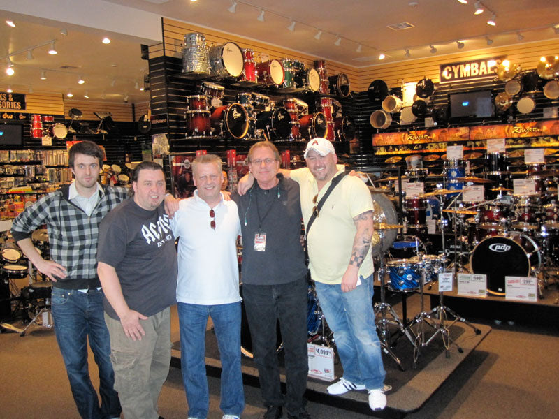 NAMM 2010 Drumshop UK