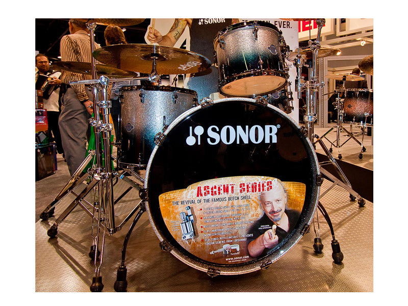 Sonor drums NAMM 2011