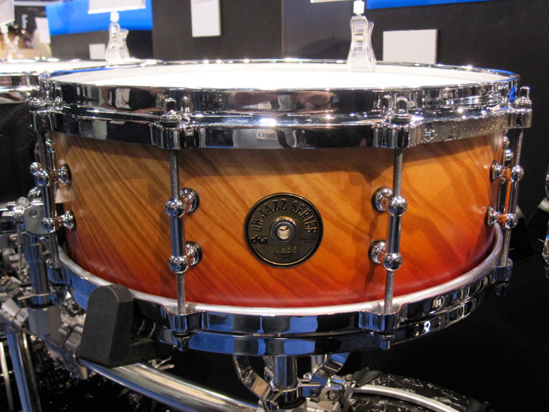 DW Jazz series snare drums at NAMM 2010 Drumshop UK