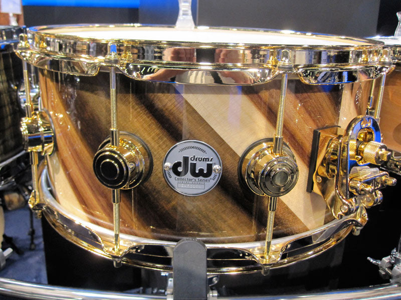 NAMM 2010 Drum Workshop DW Collectors snare drums Drumshop UK