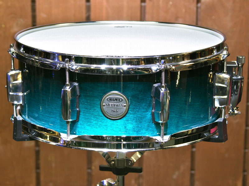 Mapex Meridian Birch Snare Drum Saphire Fade