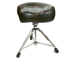 Pork Pie Black Sparkle Drum Throne
