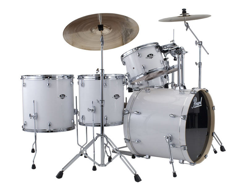 Pearl Export Pure White Drum Kit 2013 the drumshop uk