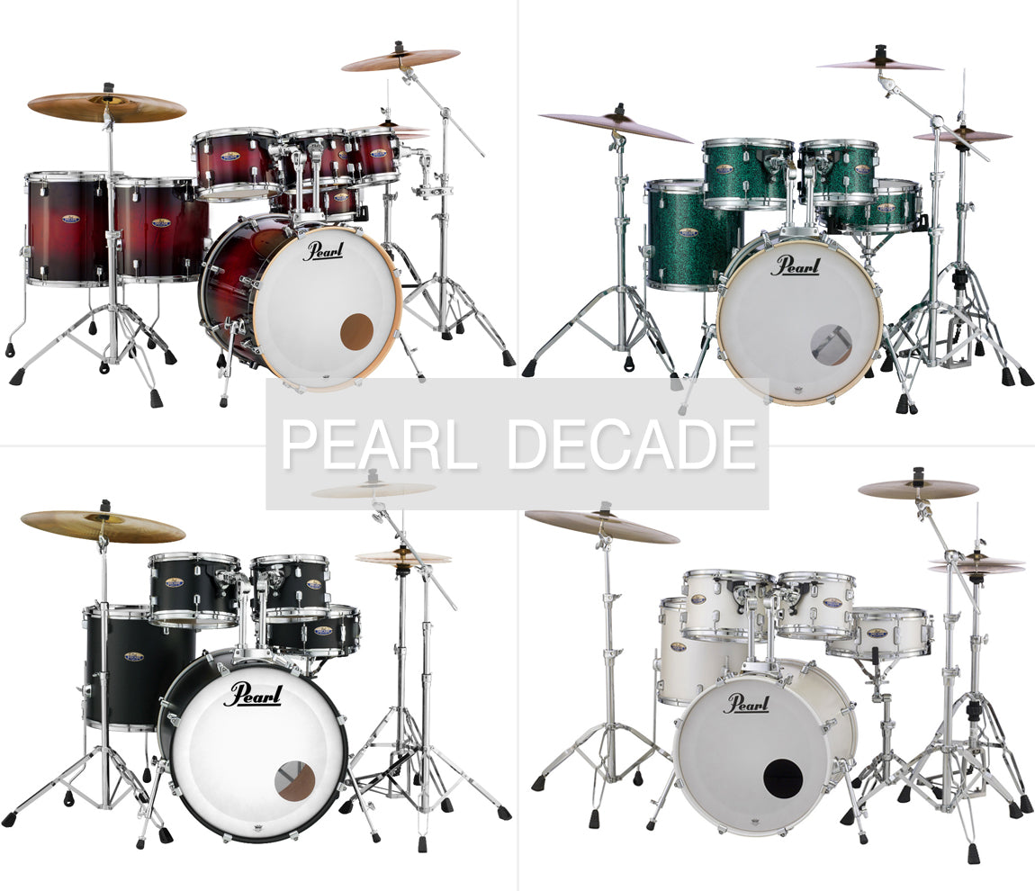 Pearl Decade drums