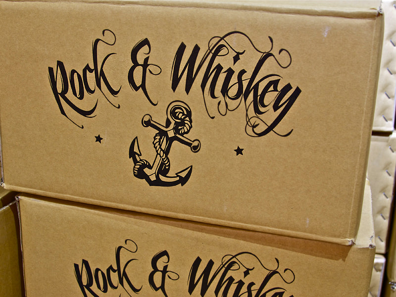 Rock & Whiskey RAW snare drum delivery!