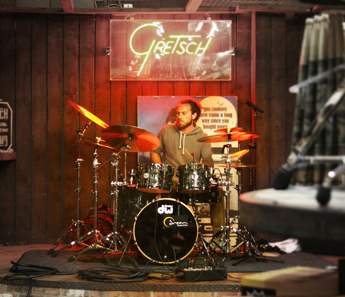 Scott Pellegrom Drum Clinic at Drumshop