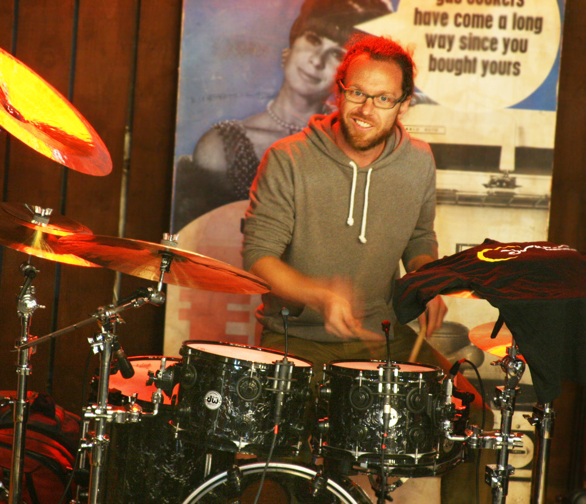 Scott Pellegrom Drum Clinic at Drumshop UK June 2015