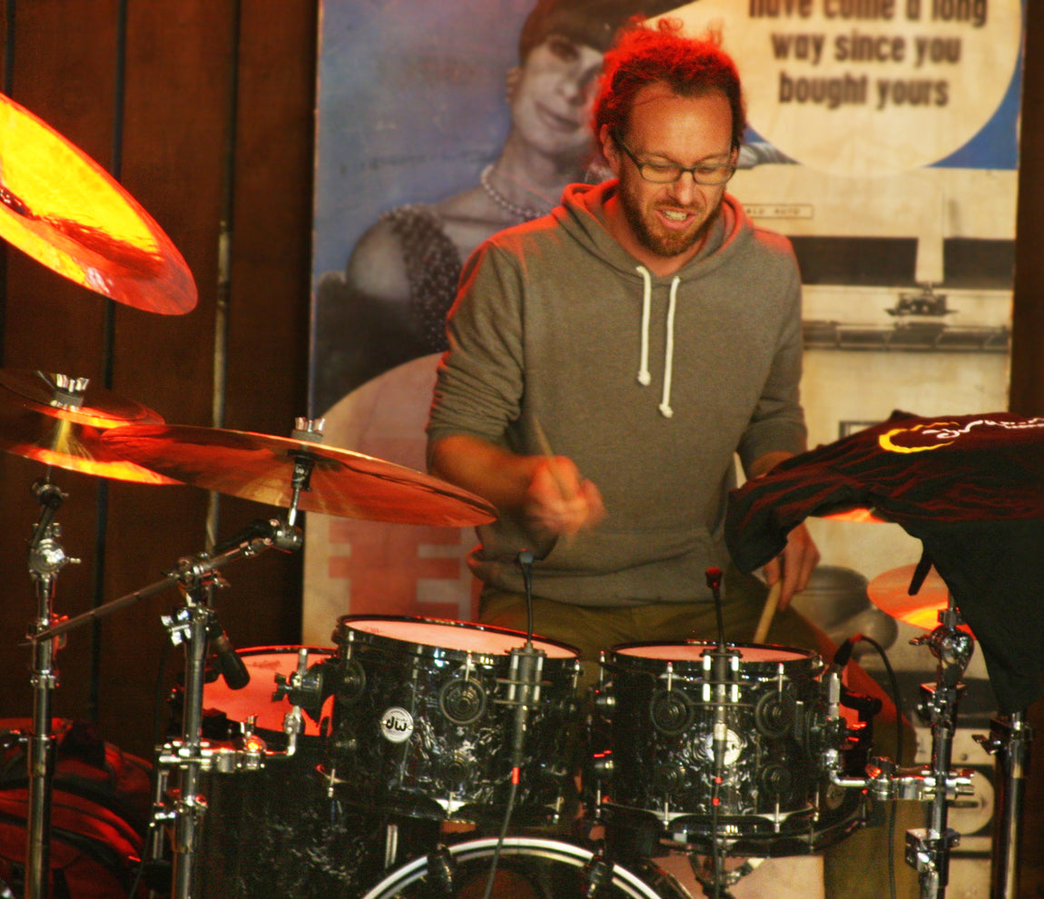 Scott Pellegrom at Drumshop UK