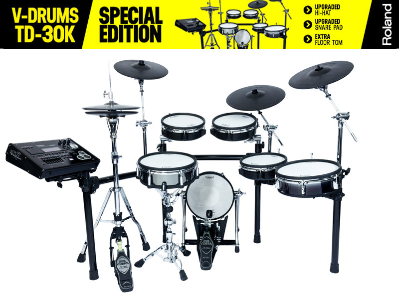 Roland TD-30KSE Special Edition Electronic Drum Kit