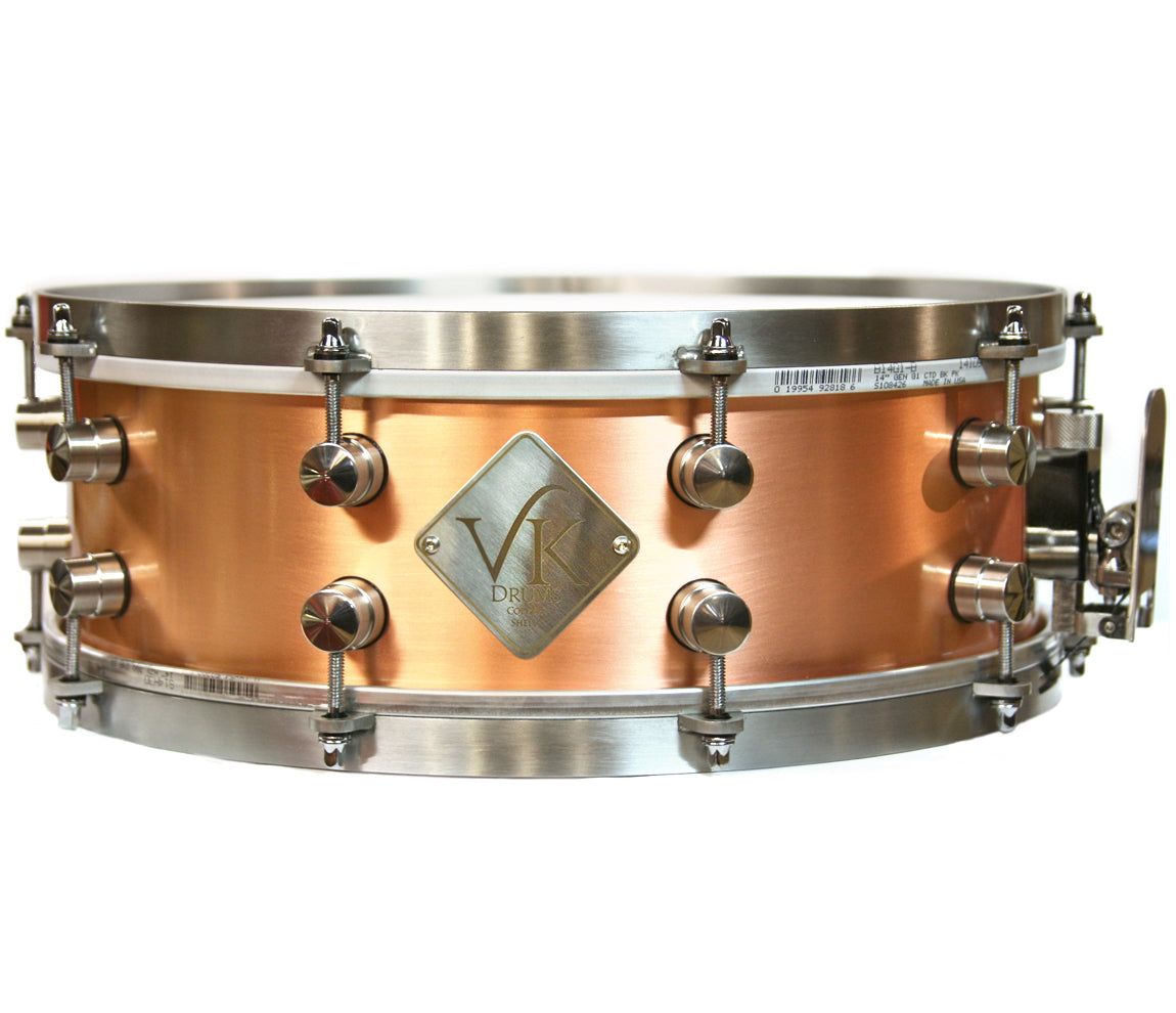 VK Drums Copper Snare Drum