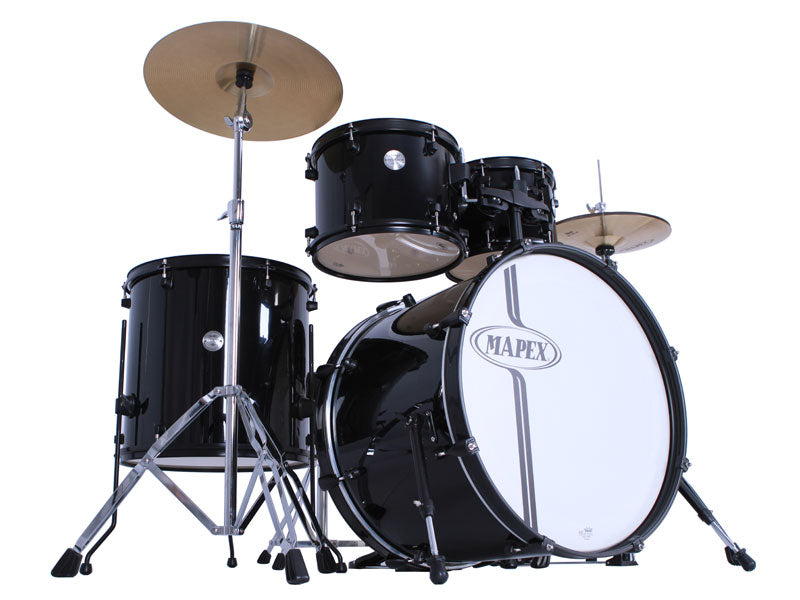 Mapex Black Voyager Drum Kit