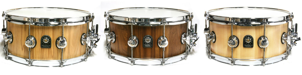 Natal Pure-Stave Snare Drums