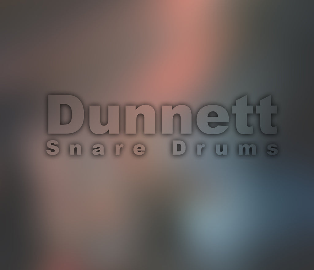Dunnett Snare Drums Straight from Namm 2016