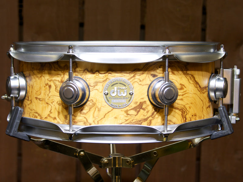A Pre-Loved Collectors Snare Drum On Sale At Drum Shop UK