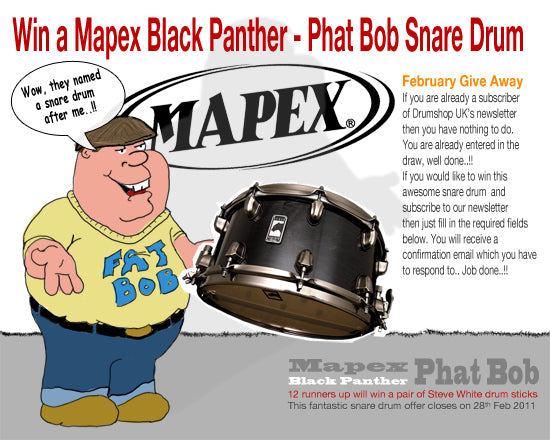 Mapex competition drumshop