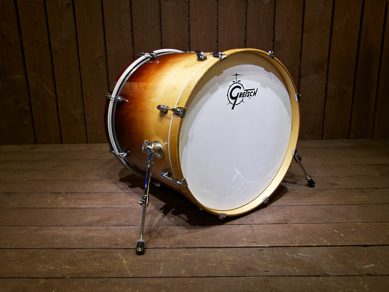 Gretsch Catalina Maple Mocha Fade Bass Drum - Odd Drums at Drum Shop UK