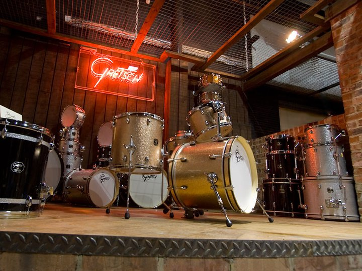 Gretsch drums at the drumshop uk