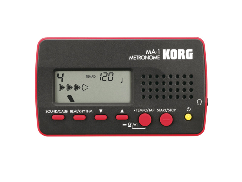 Korg MA-1BKRD Black and Red Metronome drumshop uk