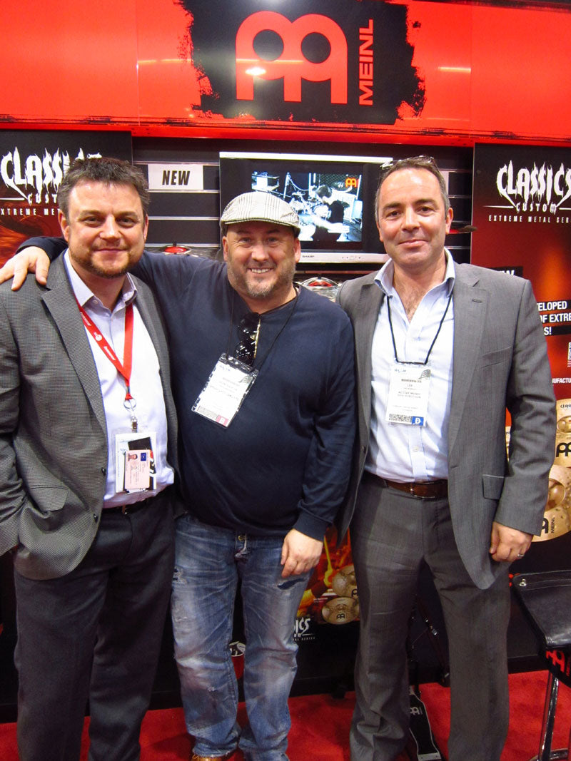 Andy, Lee and Paul Active Music NAMM 2012