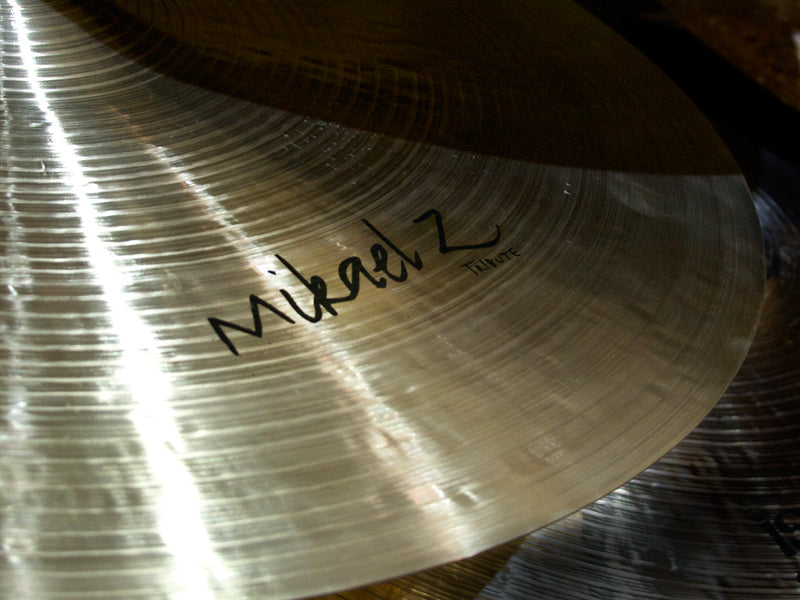 Mikael Z Istanbul Cymbal drumshop uk