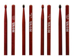 Vic Firth Nova red drumsticks