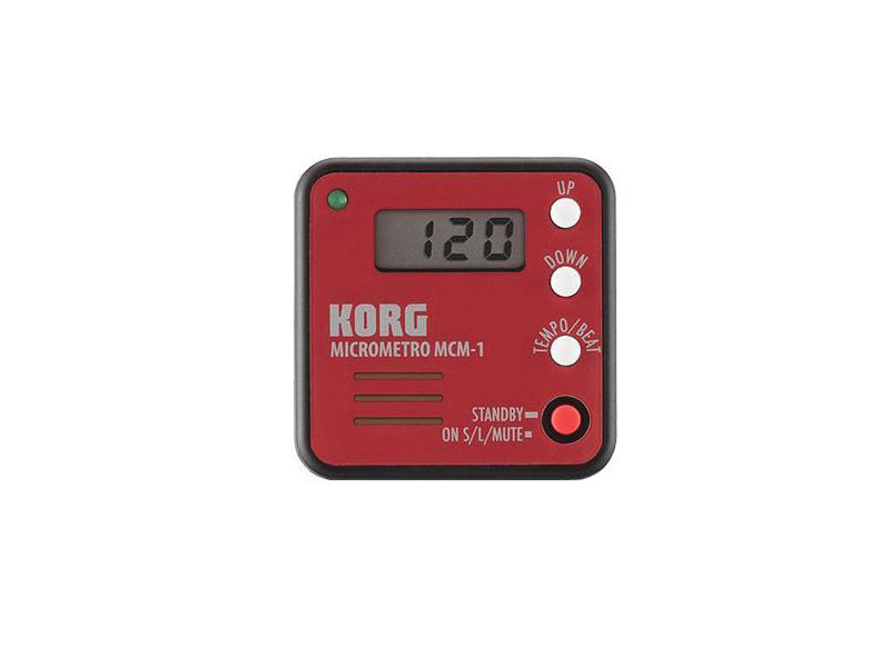 Korg MCM-1RD Red Metronome at the drumshop uk