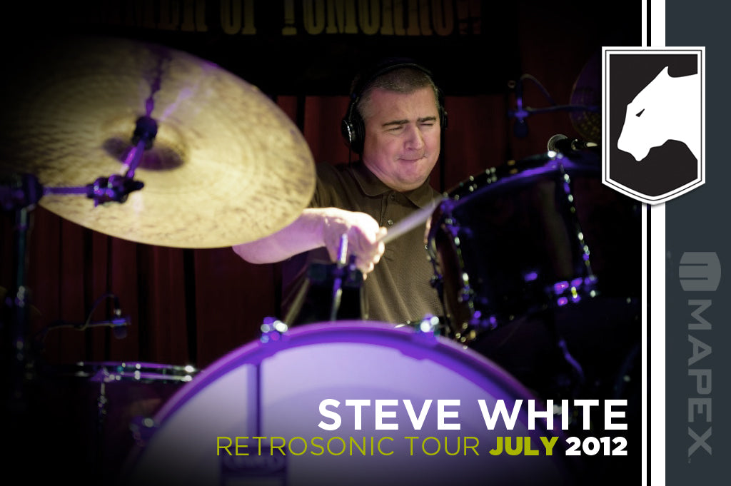 Steve White at Drum Shop UK
