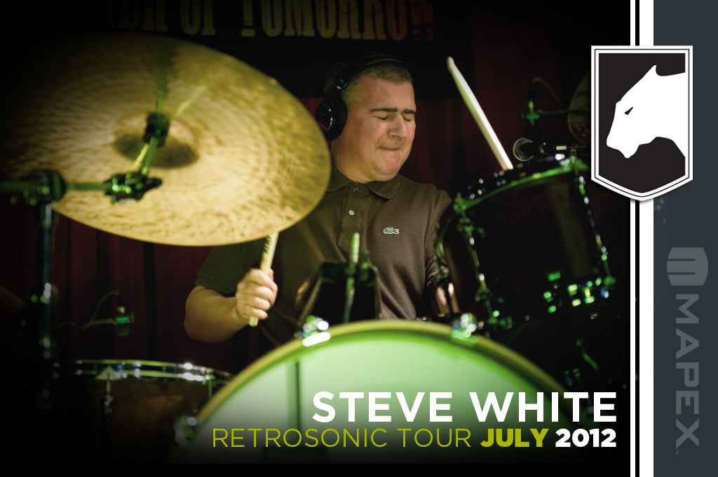 Drum Shop hosts Steve White drum clinic