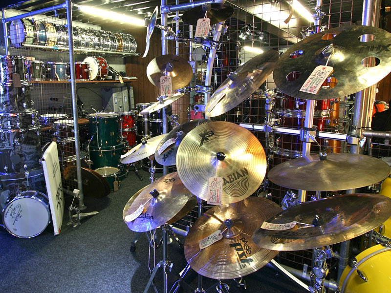 Pre-Loved Area At Drum Shop UK
