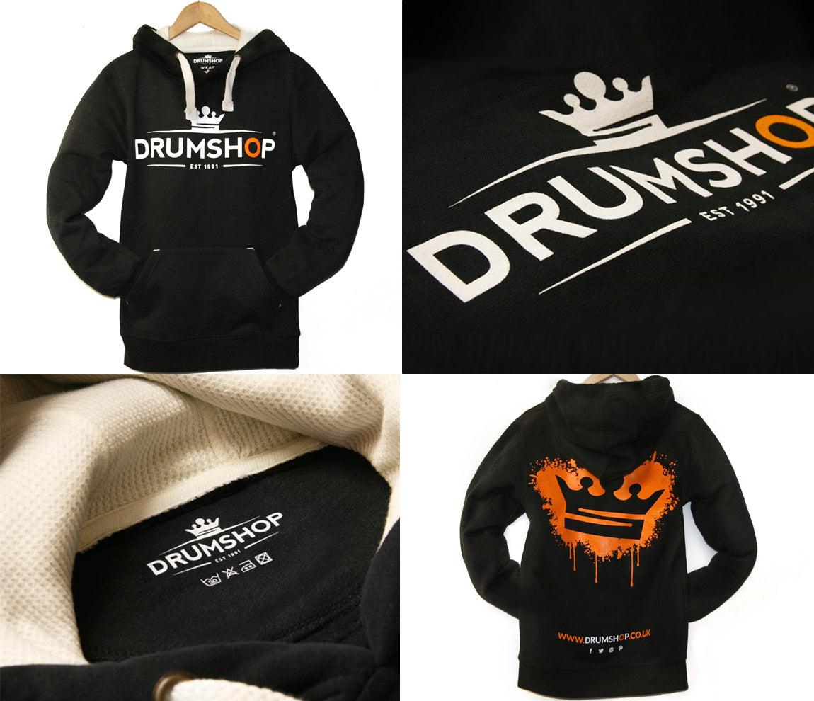 Drumshop Unisex Hoodie 'The Crown'