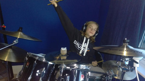 Ben is loving his Drum Shop UK Hoodie and Istanbul Cymbals from us