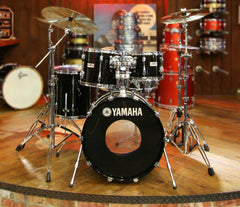 Yamaha Recording Custom Solid Black 9000 Series Shell Pack