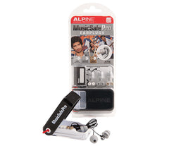 Alpine MusicSafe Pro Silver Ear Plugs with Case